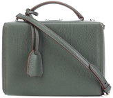 Mark Cross Small Grace Box - Pebbled Green