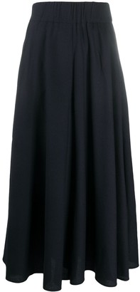 Aspesi Flared Midi Skirt