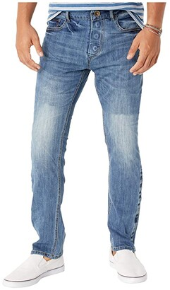 Seven7 Adaptive Adaptive Slim Straight Jeans w/ Magnetic Closure in Belmore (Belmore) Men's Jeans