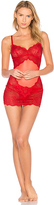 L'Agent by Agent Provocateur Vanesa Non Wired Slip in Red. - size M (also in S)