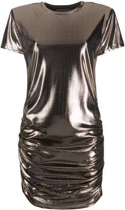 John Richmond short-sleeve fitted dress