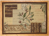 Park B Smith Olive Collage Rectangular Rug