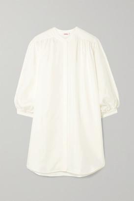 Eres Mosaic Solarium Silk-twill Mini Dress - Ivory