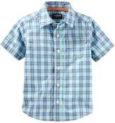 Osh Kosh Oshkosh Bgosh Boys 4-12 Button-Up Shirt