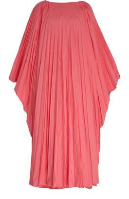 Roksanda Oleria Pleated Chiffon Maxi Dress