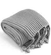 Charter Club Damask Designs Damask Designs Tassel Throw, Created for Macy's