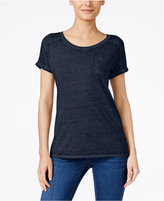 Style&Co. Style & Co. Burnout T-Shirt, Only at Macy's