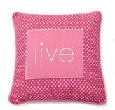 One Grace Place Simplicity Live Pillow in Pink