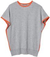 Cove Eva Grey & Orange Cashmere Jumper