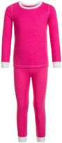 Cuddl Duds Thermal Top and Pants Base Layer Set - Long Sleeve (For Toddler Girls)