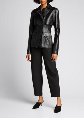 Altuzarra Leather Moto Jacket