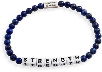Little Words Project Strength Beaded Bracelet