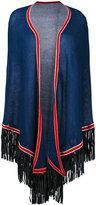 Antonia Zander fringed shawl - women - Cashmere - One Size