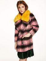 Scotch & Soda Faux Fur Collared Jacket
