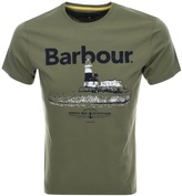 Barbour Padstow T Shirt Green