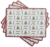 Sur La Table Holly & Pine Cork-Backed Placemats