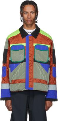 Li Ning Li-Ning Multicolor Quilted Jacket