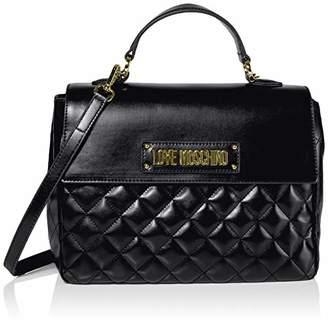 Love Moschino Borsa Quilted Nappa Pu, Women's Top-Handle Bag,21x30x11 cm (W x H L)