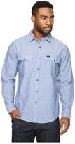 Brixton Wayne L/S Woven Men's Long Sleeve Button Up