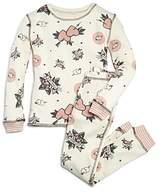PJ Salvage Girls' Love Forever Thermal Pajama Shirt & Pants Set - Big Kid