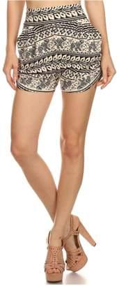 New Mix Cream Elephant Shorts