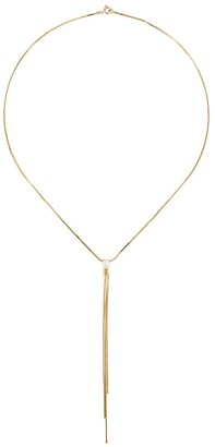 Iosselliani 9kt yellow gold River pearl necklace