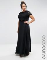 Asos Maxi Dress with Lace Crop Top