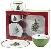 Spode Christmas Tree Children's 3-Piece Melamine Dinnerware Set