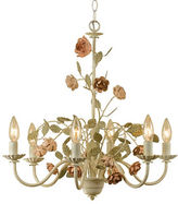 AF Lighting Elements Ramblin Rose Six Light Chandelier