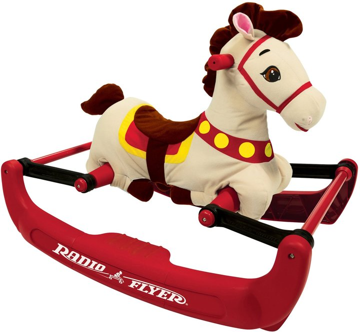 Radio Flyer Soft Rock & Bounce Pony