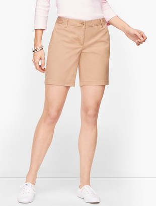 "Talbots Relaxed Chino Shorts - 7"" - Solid"