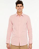 Le Château Cotton Check Tailored Fit Shirt