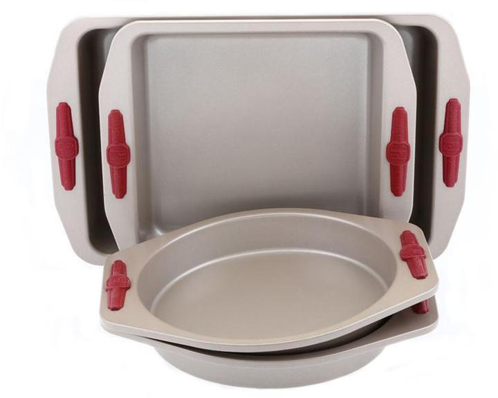 Paula Deen 4-pc. Signature Bakeware Cake Set