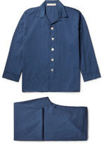 Cleverly Laundry - Washed-cotton Pyjama Set