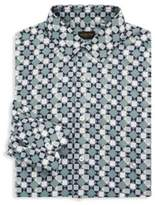 Valentino Printed Cotton Classic-Fit Dress Shirt