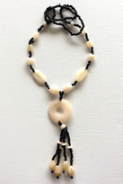 House of Atelier Handmade Lucite Necklace