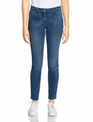 Cecil Women's 372540 Charlize Galon Slim Fit Jeans