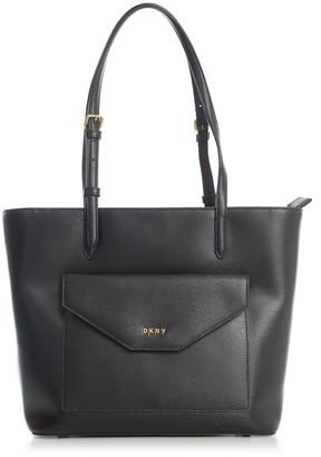DKNY Alexa Tote Sutton Textured Leather
