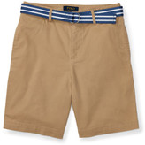 Polo Ralph Lauren Belted Stretch Cotton Short (8-14 Years)