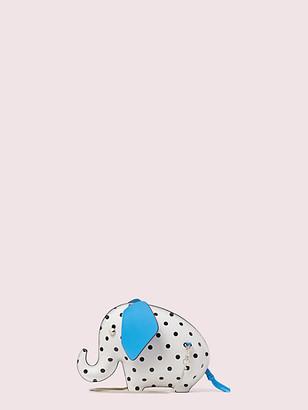 Kate Spade Tiny Cabana Dot Elephant Crossbody
