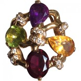 Chanel Baroque Multicolour Yellow gold Rings