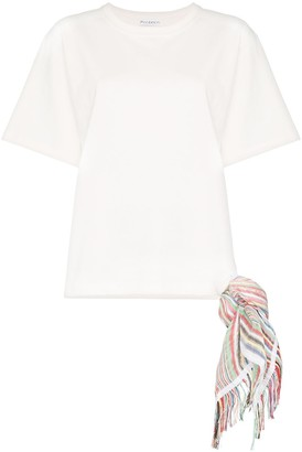 J.W.Anderson scarf detail T-shirt