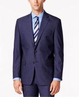 Lauren Ralph Lauren Men's Medium Blue Solid Slim Fit Jacket