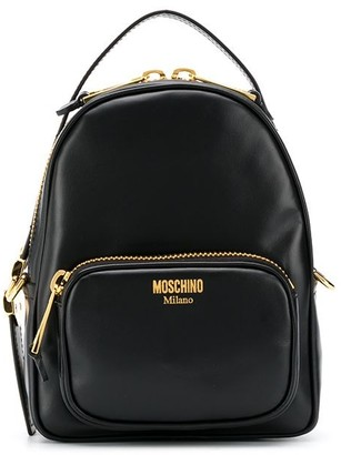 Moschino Chain-Link Detail Backpack