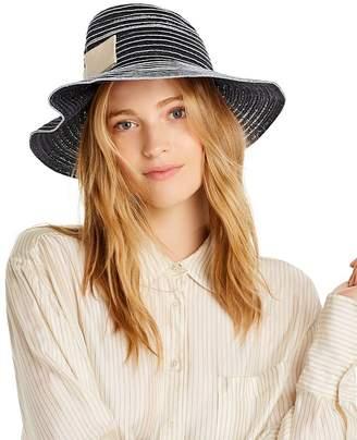 Raffaello Bettini Pleated Straw Hat - 100% Exclusive