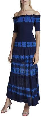 Altuzarra Ayaka Off-the-Shoulder Midi Dress