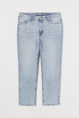 H&M H&M+ Slim Straight High Jeans
