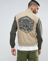 Billionaire Boys Club Bomber Jacket With Back Patch
