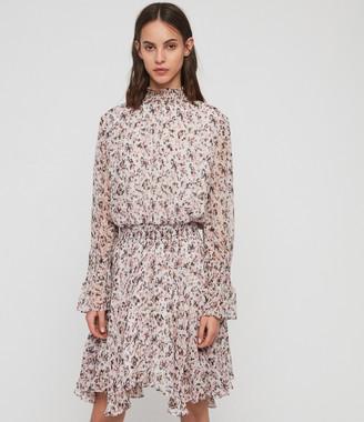 AllSaints Ria Freefall Dress