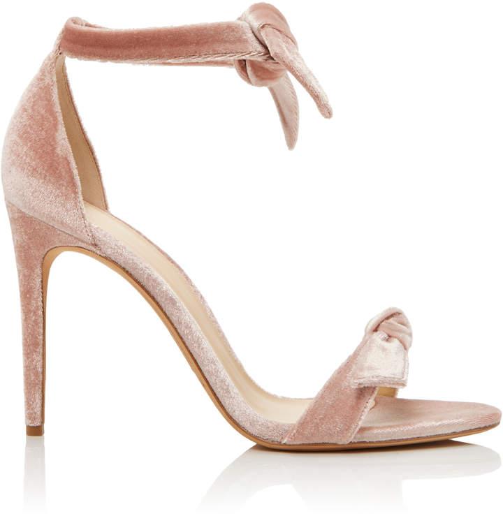 Alexandre Birman Clarita Velvet Sandals